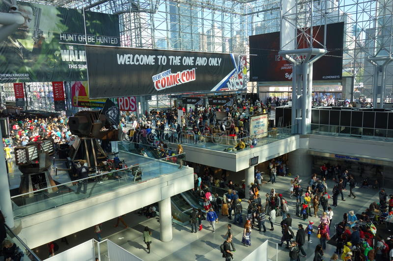 The 2014 New York Comic Con 38 stock images