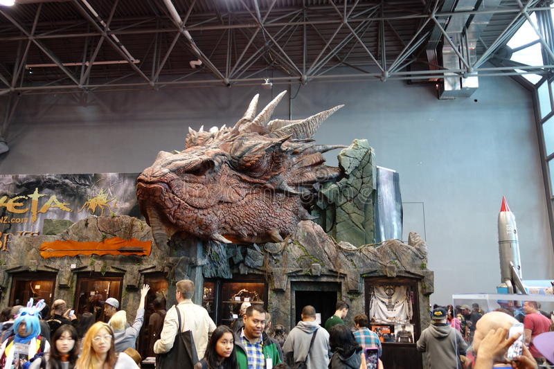 The 2014 New York Comic Con 30 royalty free stock photo