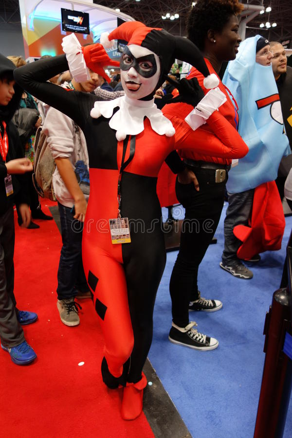 The 2014 New York Comic Con 129 royalty free stock images