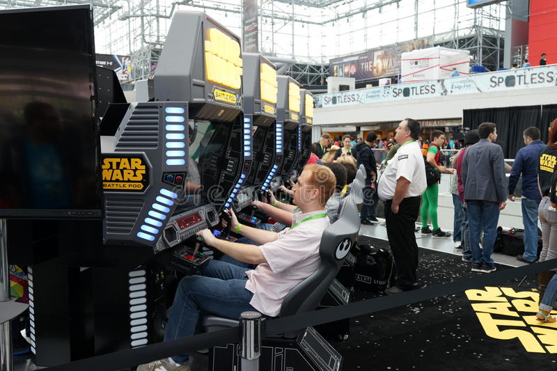 New York Comic Con 2015 1. New York Comic Con is the East Coast's biggest and most exciting popular culture convention. Our Show Floor plays host to the latest stock photos