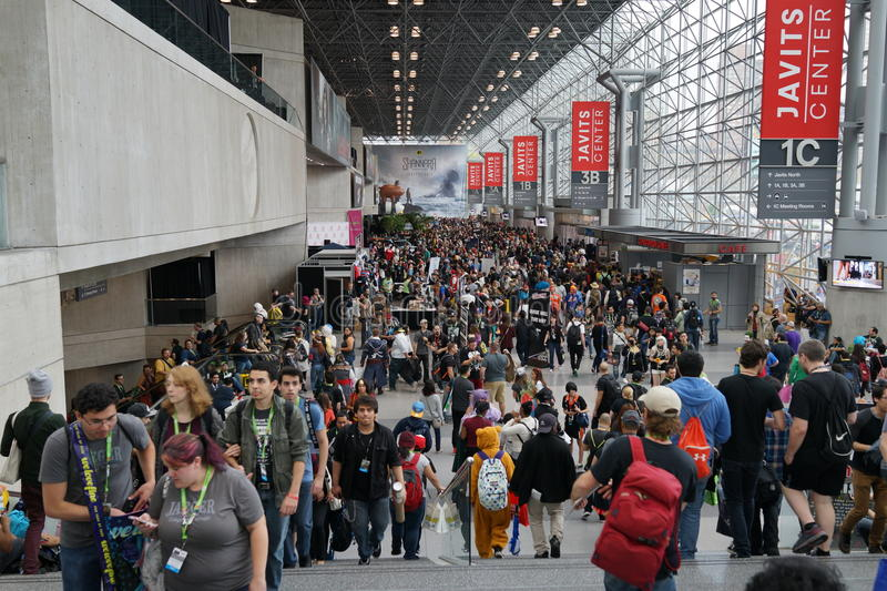 New York Comic Con 2015 2. New York Comic Con is the East Coast's biggest and most exciting popular culture convention. Our Show Floor plays host to the latest stock images