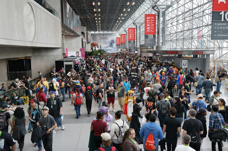 New York Comic Con 2015 4. New York Comic Con is the East Coast's biggest and most exciting popular culture convention. Our Show Floor plays host to the latest royalty free stock photography