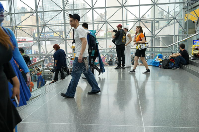New York Comic Con 2015 9. New York Comic Con is the East Coast's biggest and most exciting popular culture convention. Our Show Floor plays host to the latest stock images