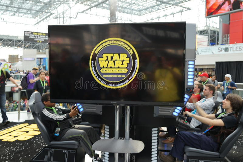 New York Comic Con 2015 21. New York Comic Con is the East Coast's biggest and most exciting popular culture convention. Our Show Floor plays host to the latest stock images
