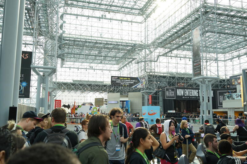 New York Comic Con 2015 24. New York Comic Con is the East Coast's biggest and most exciting popular culture convention. Our Show Floor plays host to the latest royalty free stock photo