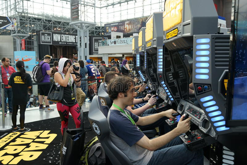 New York Comic Con 2015 25. New York Comic Con is the East Coast's biggest and most exciting popular culture convention. Our Show Floor plays host to the latest stock images