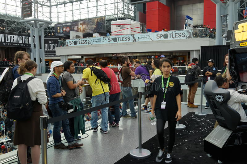 New York Comic Con 2015 33. New York Comic Con is the East Coast's biggest and most exciting popular culture convention. Our Show Floor plays host to the latest royalty free stock photo