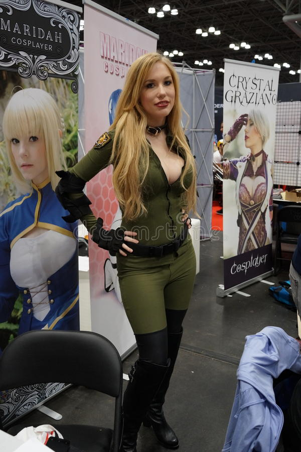 New York Comic Con 2015 43. New York Comic Con is the East Coast's biggest and most exciting popular culture convention. Our Show Floor plays host to the latest royalty free stock photos