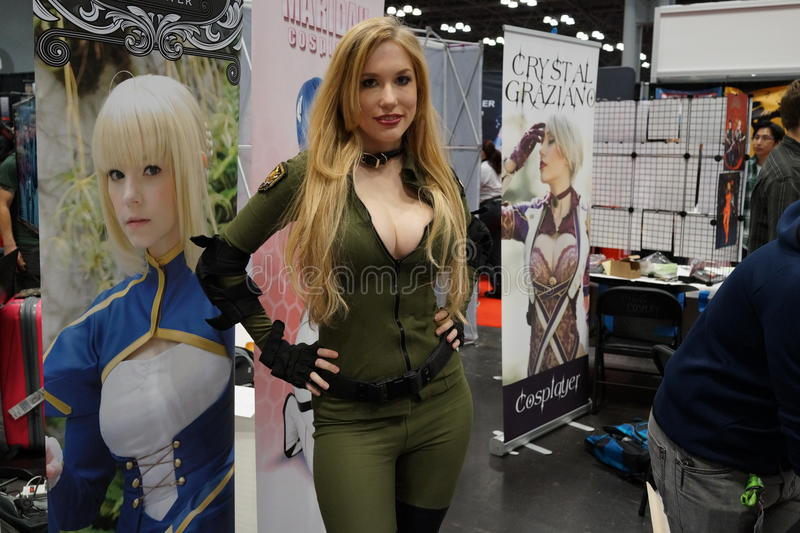 New York Comic Con 2015 44. New York Comic Con is the East Coast's biggest and most exciting popular culture convention. Our Show Floor plays host to the latest royalty free stock images