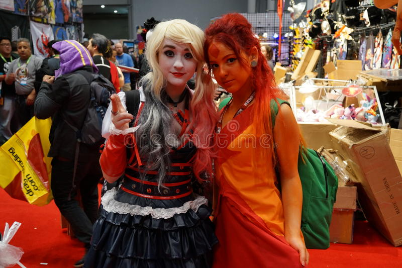 New York Comic Con 2015 45. New York Comic Con is the East Coast's biggest and most exciting popular culture convention. Our Show Floor plays host to the latest stock image