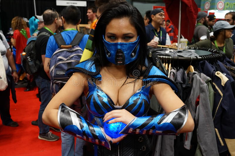 New York Comic Con 2015 48. New York Comic Con is the East Coast's biggest and most exciting popular culture convention. Our Show Floor plays host to the latest stock image
