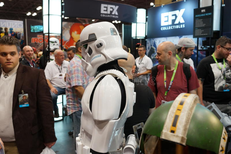 New York Comic Con 2015 49. New York Comic Con is the East Coast's biggest and most exciting popular culture convention. Our Show Floor plays host to the latest stock photos