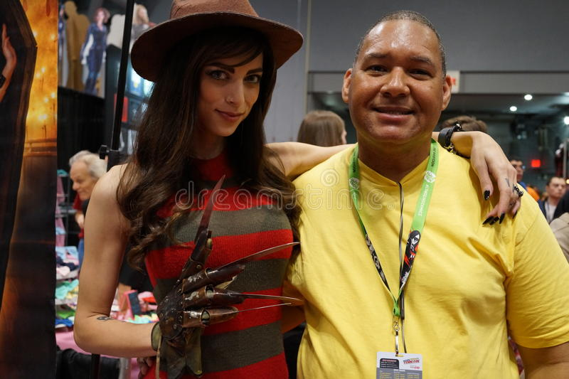 New York Comic Con 2015 51. New York Comic Con is the East Coast's biggest and most exciting popular culture convention. Our Show Floor plays host to the latest royalty free stock image