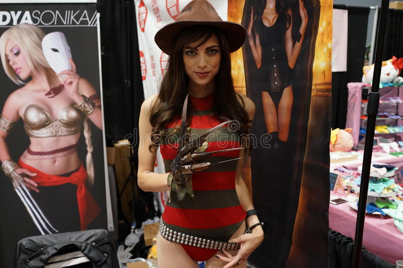 New York Comic Con 2015 54. New York Comic Con is the East Coast's biggest and most exciting popular culture convention. Our Show Floor plays host to the latest stock photos