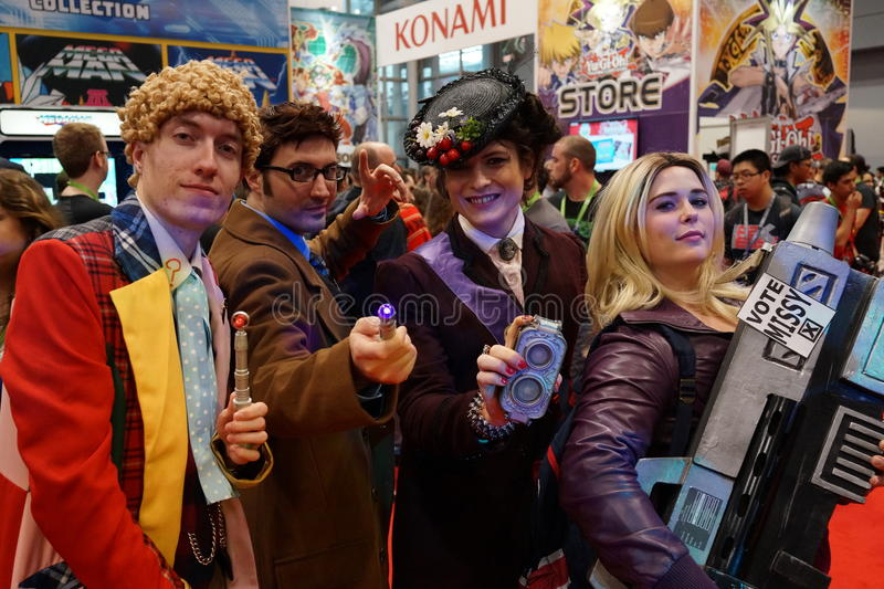 New York Comic Con 2015 55. New York Comic Con is the East Coast's biggest and most exciting popular culture convention. Our Show Floor plays host to the latest royalty free stock image