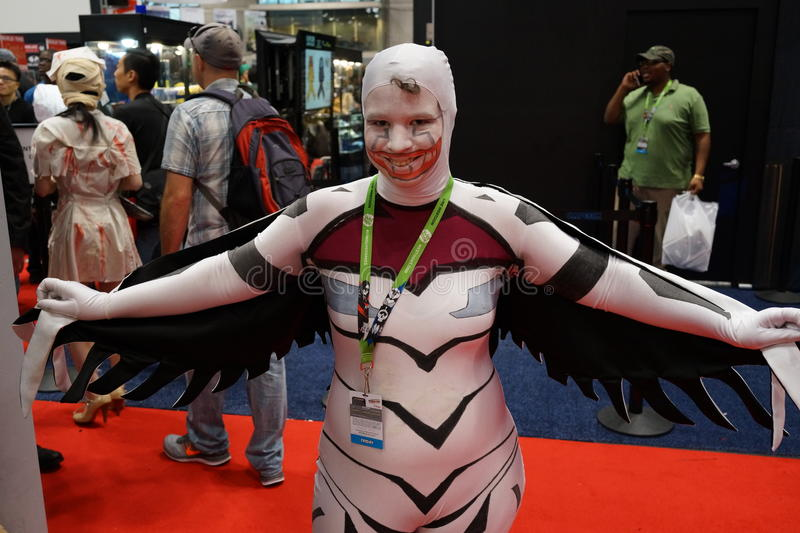 New York Comic Con 2015 60. New York Comic Con is the East Coast's biggest and most exciting popular culture convention. Our Show Floor plays host to the latest stock image