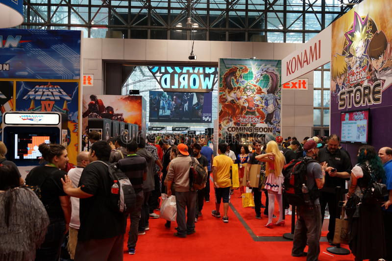 New York Comic Con 2015 61. New York Comic Con is the East Coast's biggest and most exciting popular culture convention. Our Show Floor plays host to the latest stock photography