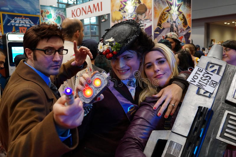 New York Comic Con 2015 70. New York Comic Con is the East Coast's biggest and most exciting popular culture convention. Our Show Floor plays host to the latest stock photos
