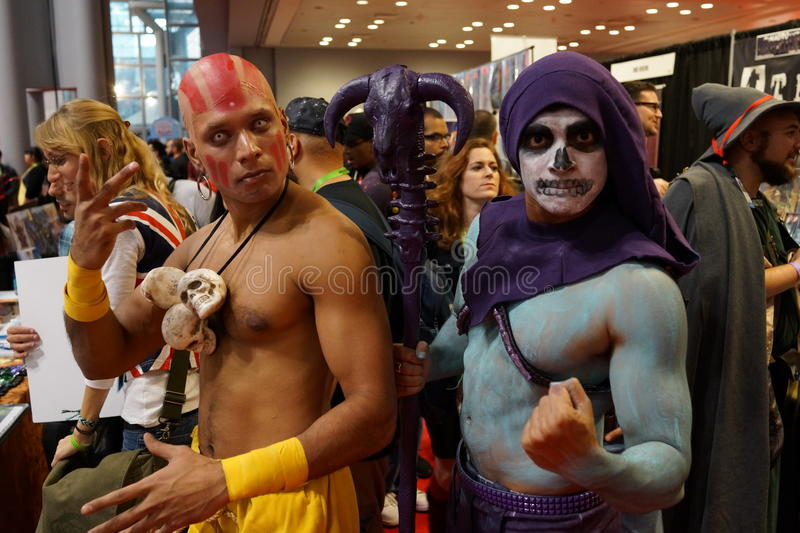 New York Comic Con 2015 72. New York Comic Con is the East Coast's biggest and most exciting popular culture convention. Our Show Floor plays host to the latest royalty free stock image