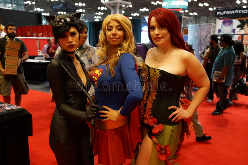 New York Comic Con 2015 74. New York Comic Con is the East Coast's biggest and most exciting popular culture convention. Our Show Floor plays host to the latest stock photo