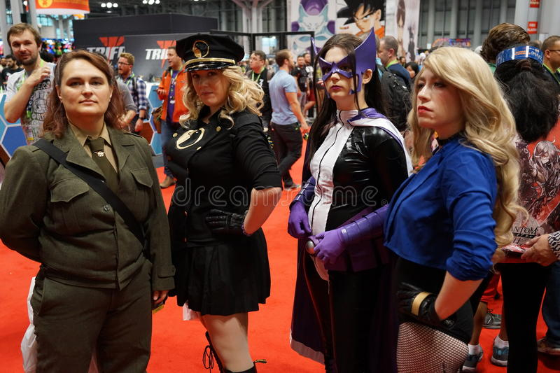 New York Comic Con 2015 77. New York Comic Con is the East Coast's biggest and most exciting popular culture convention. Our Show Floor plays host to the latest stock photo