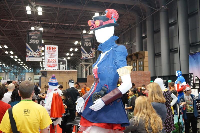 New York Comic Con 2015 96. New York Comic Con is the East Coast's biggest and most exciting popular culture convention. Our Show Floor plays host to the latest royalty free stock photo