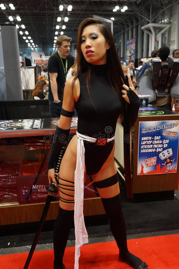New York Comic Con 2015 Part 2 26. New York Comic Con is the East Coast's biggest and most exciting popular culture convention. Our Show Floor plays host to the royalty free stock image