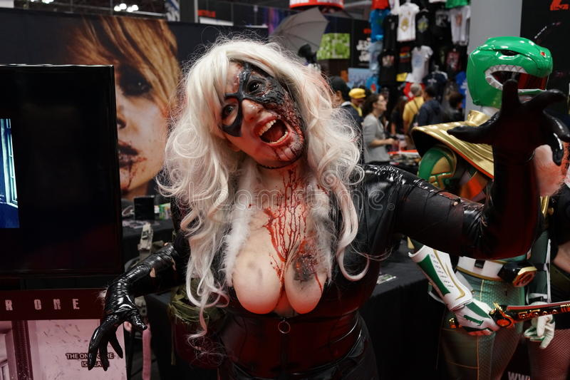 New York Comic Con 2015 Part 3 94. New York Comic Con is the East Coast's biggest and most exciting popular culture convention. Our Show Floor plays host to the royalty free stock image