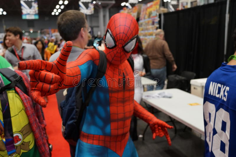 New York Comic Con 2015 Part 5 82. New York Comic Con is the East Coast's biggest and most exciting popular culture convention. Our Show Floor plays host to the stock images