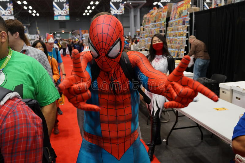 New York Comic Con 2015 Part 5 83. New York Comic Con is the East Coast's biggest and most exciting popular culture convention. Our Show Floor plays host to the royalty free stock photos