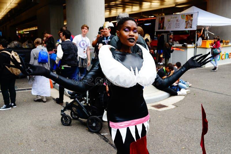 The 2019 New York Comic Con Sunday 53 royalty free stock photos