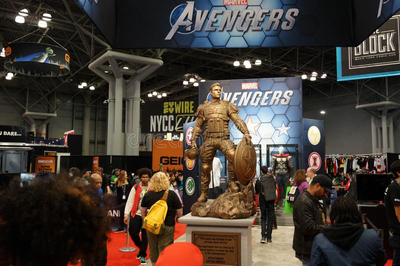The 2019 New York Comic Con Sunday 32 royalty free stock images