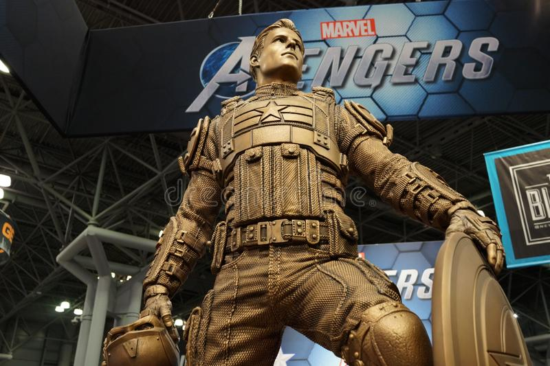 The 2019 New York Comic Con Sunday 30 royalty free stock photography
