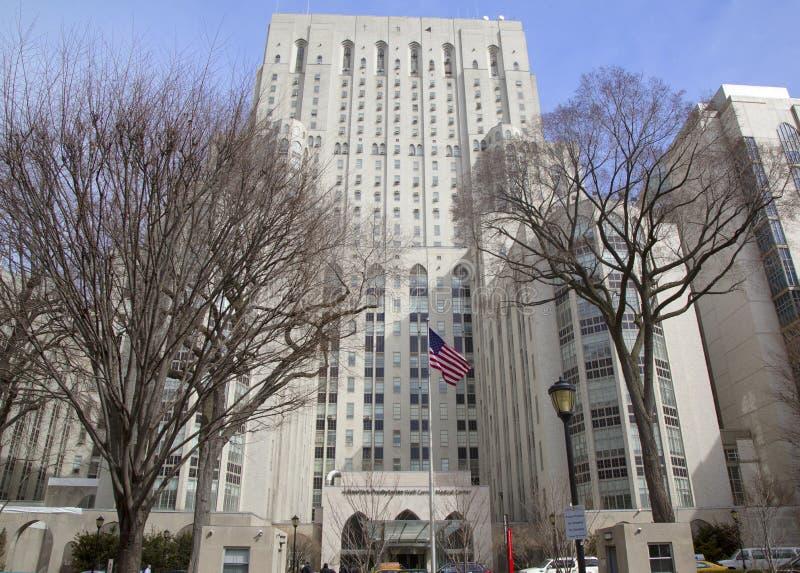 New York Cornell Medical Center presbiteriano fotografie stock