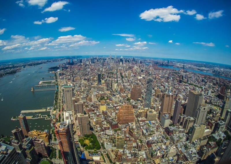 NEW YORK DA FREEDOM TOWER immagine stock libera da diritti