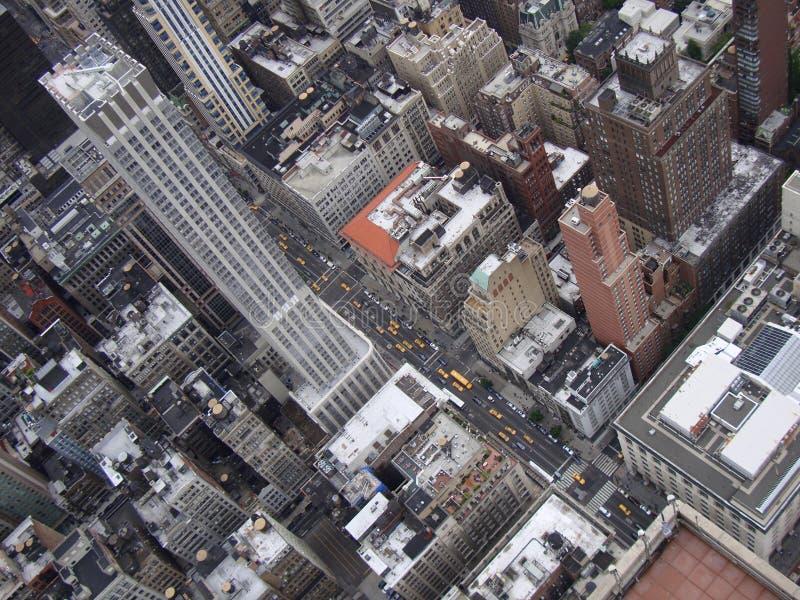 New York da sopra fotografia stock libera da diritti