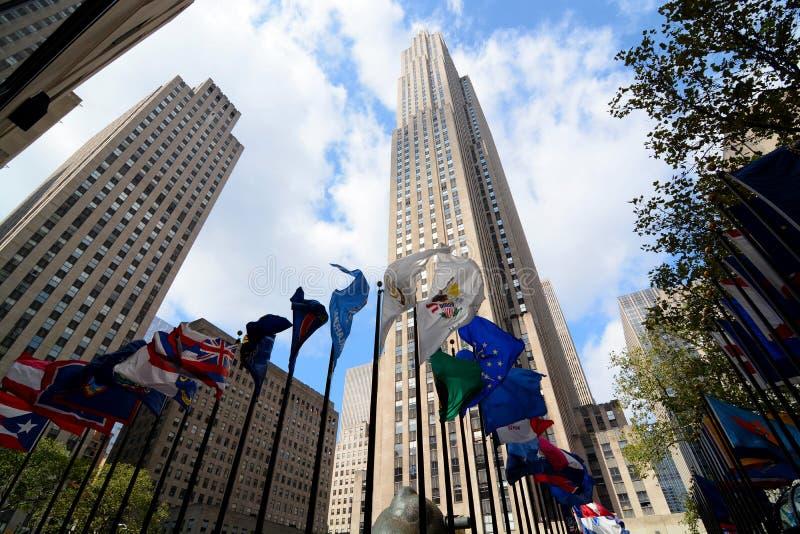 New York de Rockefeller fotografia de stock