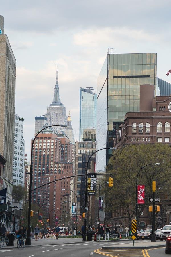 New York, de V.S. - 29 April, 2018: Lower East Side, Manhattan stock afbeelding