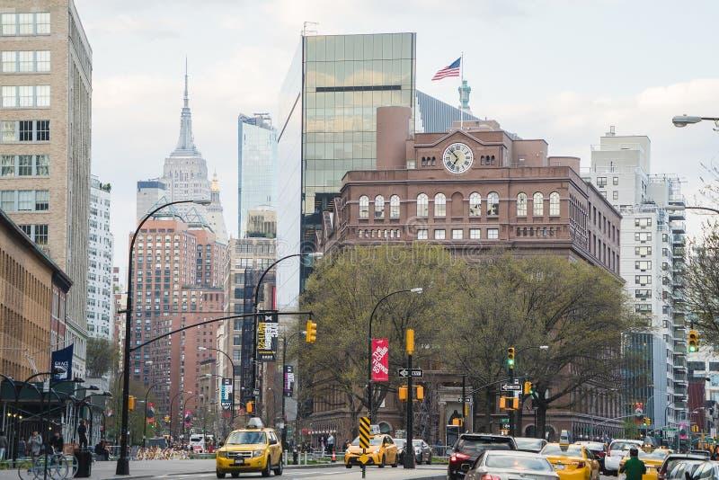 New York, de V.S. - 29 April, 2018: Lower East Side, Manhattan stock fotografie