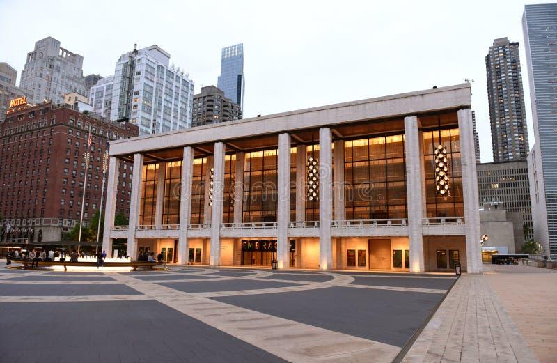 New York, de V.S. - 29 Mei, 2018: Het Theater van David H Koch, New York CIT royalty-vrije stock foto's