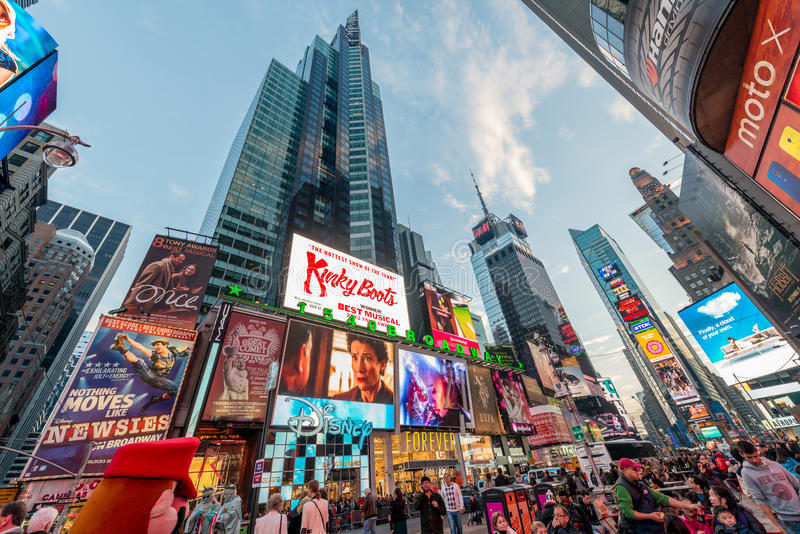 Download New York - DECEMBER 22, 2013: Times Square On December 22 In USA Stock Photo - Image of landmark, business: 84027288