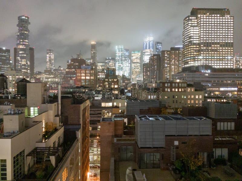 New York Downtown Skyline stock photos