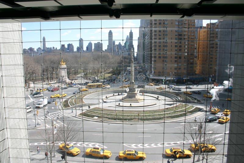 New York e taxi gialli immagine stock