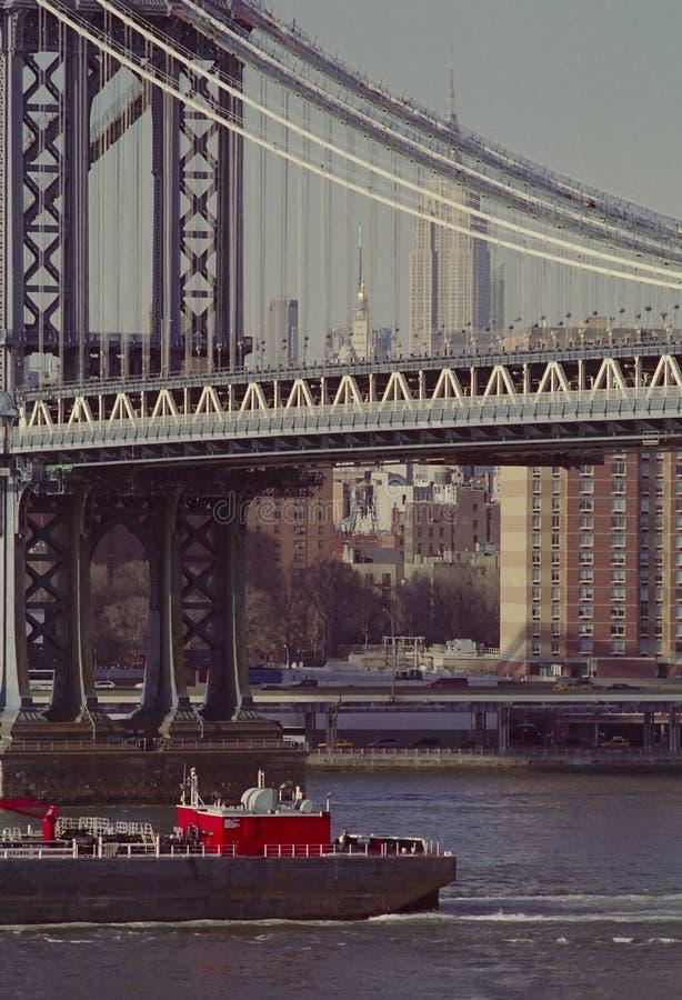 New York East River stockfoto