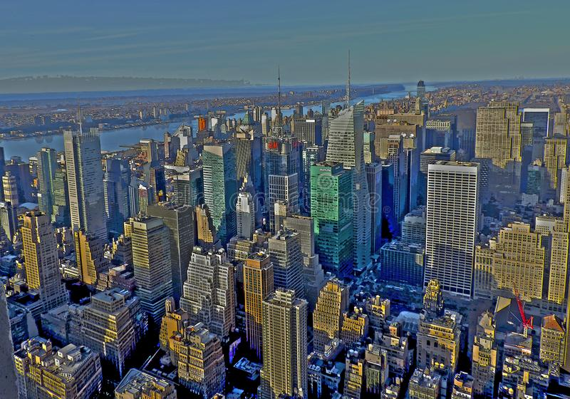 New York Edit royalty free stock photography