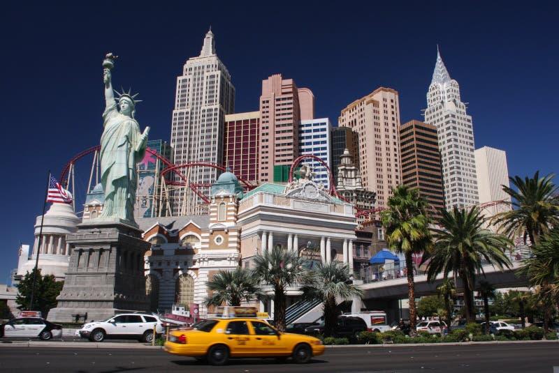 New York em Las Vegas fotos de stock