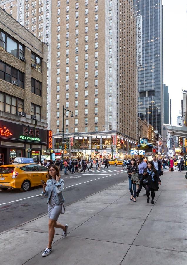 New York et Newyorkais images libres de droits