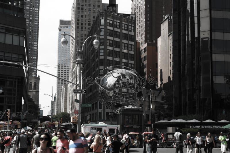 NEW YORK, Etats-Unis - 31 août 2018 : New York City à la journée New York est la ville la plus populeuse aux Etats-Unis images libres de droits