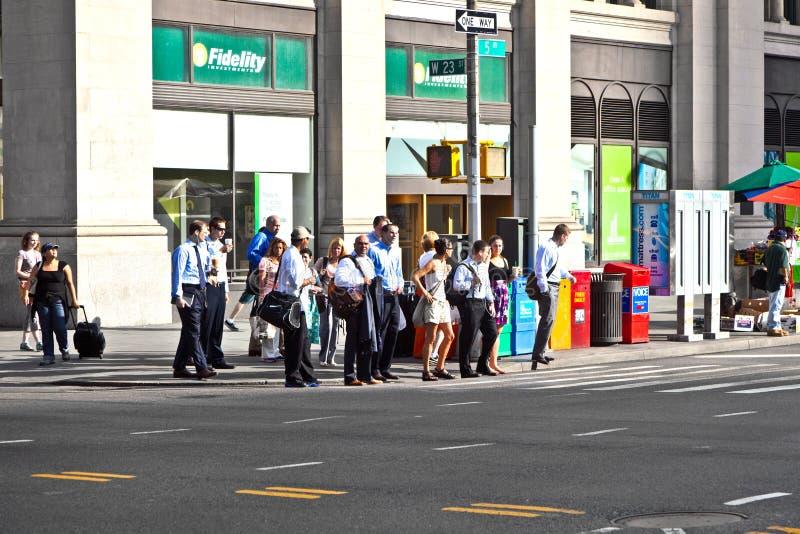 NEW YORK, ETATS-UNIS – 13 JUILLET : Les gens image libre de droits