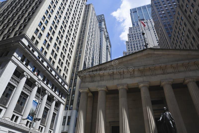 New York: federaal zaal nationaal gedenkteken royalty-vrije stock afbeelding